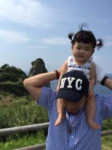 スーちゃん♡ 初めての壱岐☆ 猿岩