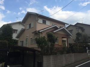 筑紫野市 M様邸 戸建て住宅 外壁 屋根 塗装工事 完了