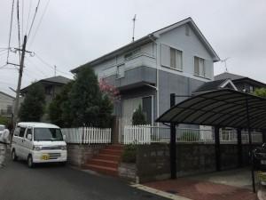 福岡県 宗像市 外壁 屋根 塗装工事 施工前