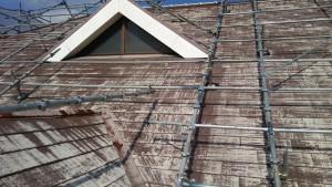 久留米市 アイゼン通運 屋根 塗装工事 施工前