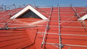 久留米市 アイゼン通運 屋根 塗装工事 完了