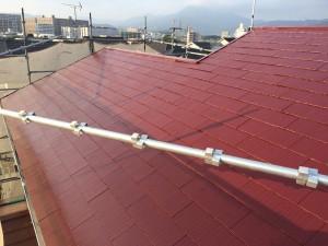 筑紫野市 M様邸 塗装工事 屋根 完了