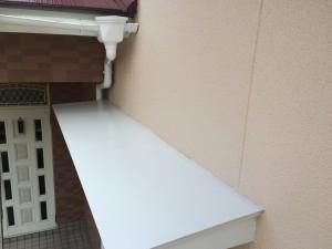 筑紫野市 M様邸 塗装工事 庇 完了