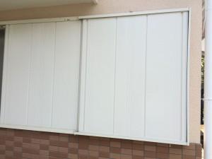 筑紫野市 M様邸 塗装工事 雨戸 完了