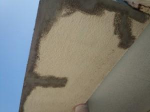 福岡市 早良区 塗装工事 早良幼稚園 庇下地処理 完了