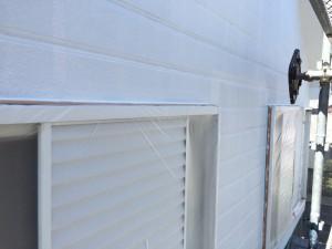 宗像市 塗装工事 I様邸 外壁 下塗り 完了