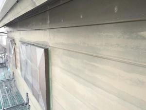 小郡市 塗装工事 N様邸 外壁下塗り 完了