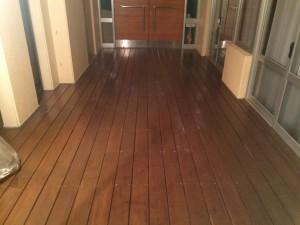 大野城市 幼稚園 塗装工事 廊下床塗装 完了