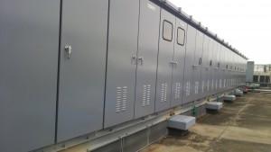 福岡市 博多区 塗装工事 センタープレイス 屋上鉄部 完了