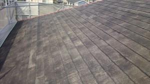大野城市 塗装工事 M歯科医院 屋根塗装 下塗り完了