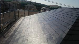 大野城市 塗装工事 M歯科医院 屋根塗装 完了