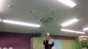 福岡市 博多区 塗装工事 店舗天井塗装