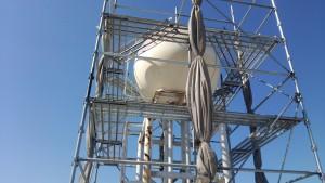 大野城市 Hビル 高架水槽 塗装工事 施工前