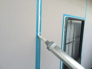 大野城市 T様邸 塗装工事 シーリング充填状況