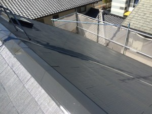大野城市 塗装工事 T様邸 屋根塗装 完了