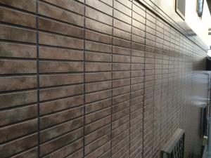 大野城市 T様邸 塗装工事 下壁 完了