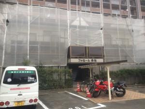 福岡県筑紫郡 那珂川 塗装工事 ファミール今光 完了☆