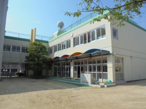 太宰府市 水城幼稚園 外壁改修工事 施工前