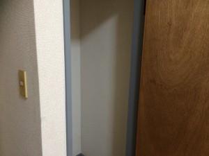 筑紫野市 K様邸 内部 塗装工事 木枠 ウレタン塗装完了