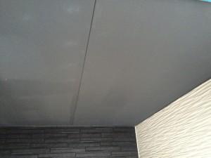 小郡市 S様邸 新築 塗装工事 施工中