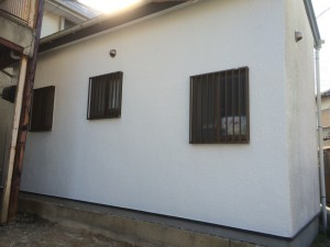 太宰府市 国分 外壁 塗装工事 完了