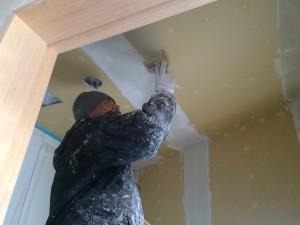 福岡市東区 塗装工事 新築内部塗装工事 下地処理