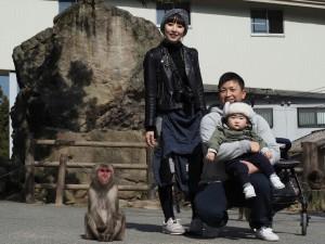 スーちゃん♡ はじめてのお猿ちゃん☆