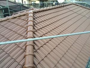 福岡県粕屋郡 塗装工事 I様邸 屋根 完了