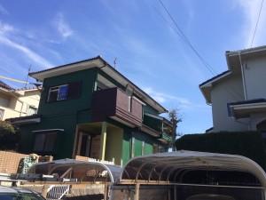 福岡県粕屋郡 塗装工事 I様邸 全体 完了
