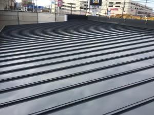筑紫野市 塗装工事 美容室 屋根塗装 完了