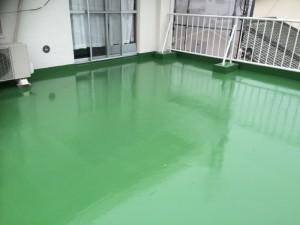太宰府市 塗装工事 こひつじ保育園 陸屋根塗装 完了