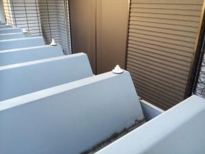 福岡市 博多区 折半屋根 テンキャップ取付け前 錆止め施工中