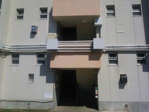 大野城市 塗装工事 リバーサイドシブタ 配管塗装 完了