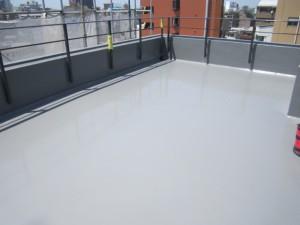 福岡市南区 ライフビル 防水工事 完了