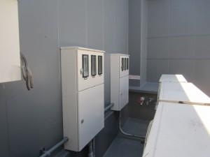 福岡市南区 ライフビル 鉄部 塗装工事 完了