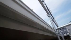 大野城市 塗装工事 Sアパート 樋 塗装 完了
