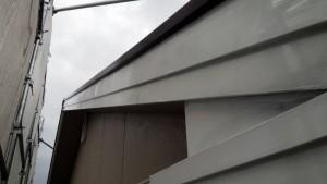 大野城市 塗装工事 Sアパート 破風塗装 完了