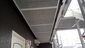 大野城市 塗装工事 Sアパート 鉄部塗装 完了