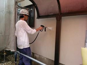 筑紫野市 塗装工事 T様邸 高圧洗浄