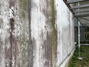福岡県 糸島市 塗装工事 雷山の森 別荘 基礎改修 施工前