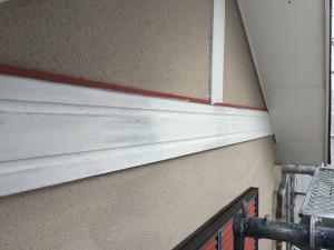 筑紫野市 T様邸 木部塗装 下塗り 完了