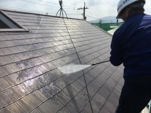 福岡県 古賀市 塗装工事 N様邸 高圧洗浄