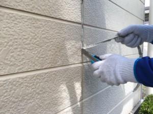 福岡県 古賀市 塗装工事 N様邸 既存シーリング撤去