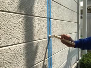 福岡県 古賀市 塗装工事 N様邸 シーリングプライマー塗布