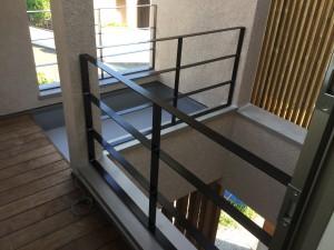 福岡市 H様邸 新築 内部塗装工事 手摺 完了