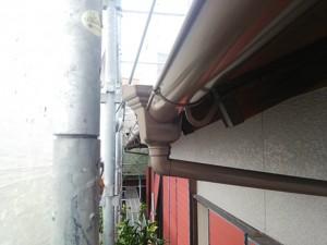 太宰府市 塗装工事 O様邸 雨樋塗装 完了