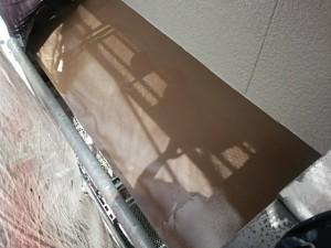 太宰府市 塗装工事 O様邸 小庇板金塗装 完了