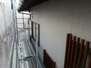 太宰府市 塗装工事 O様邸 外壁 上塗り 完了