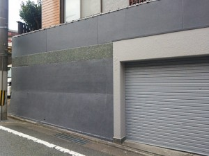 太宰府市 塗装工事 O様邸 外塀塗装 完了