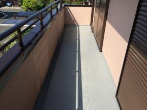 筑紫野市 K様邸 塗装工事 バルコニー床 施工前